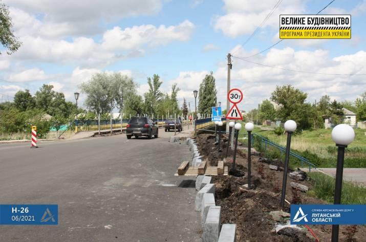 Как ремонтируют дорогу, соединяющую Луганскую и Харьковскую области